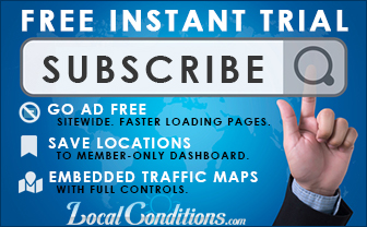 Go Ad Free - Become a LocalConditions.com member