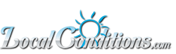 LocalConditions.com Logo - Current Weather, Weather Forecast, Traffic Report for Dublin GA